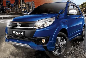 Harga Toyota Rush Baru Tahun 2019