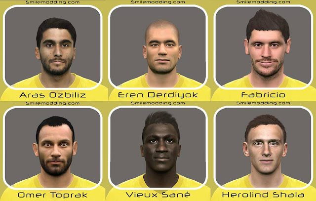 PES 2016 / PES 2017 Facepack v7 By IDIZ
