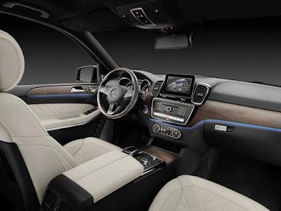 2016 Mercedes GLS 400 4MATIC interior
