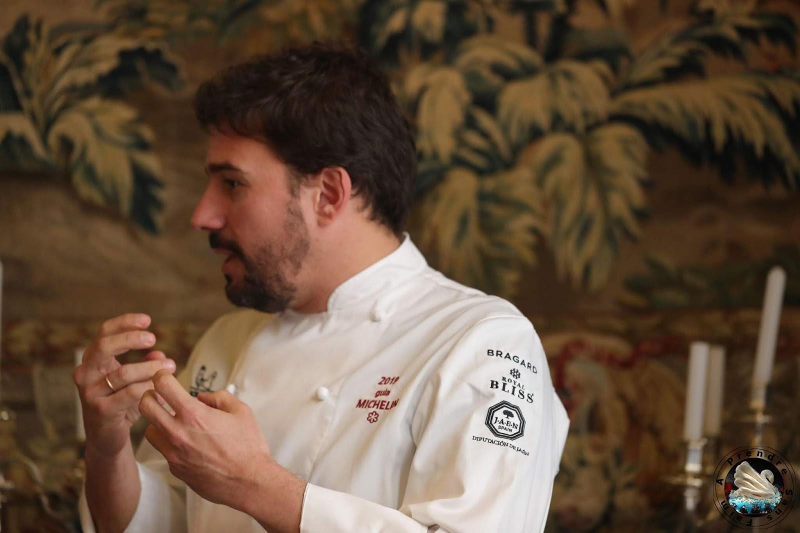 La cuisine moléculaire avec Javi Estévez à l'Ambassade Espagnole