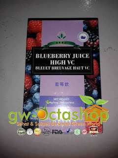 Green World Blueberry Juice