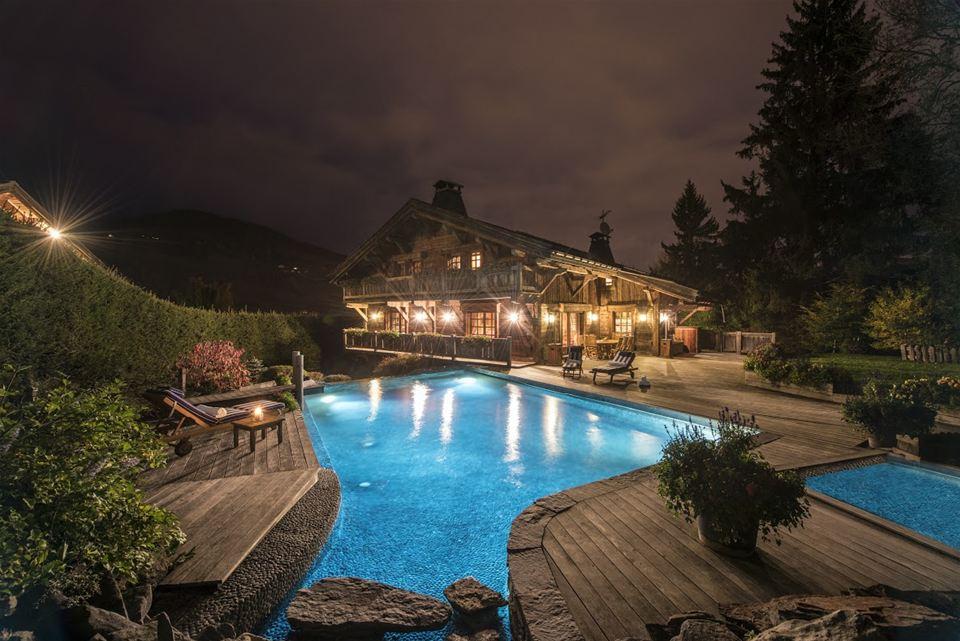 elegant address® ski: the best chalet pools in the alps