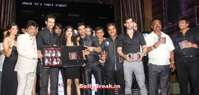 Manik Soni, Nandish Sandhu, Aziz Zee, Shibani Kashyap, Mehmood Ali, Suresh Thomas, Daisy Shah, shibani Kashyap at Plot No 666 - Restricted Area Movie Music Launch