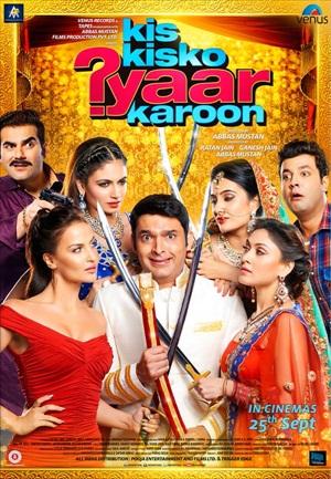 Kis Kisko Pyaar Karu 2015 Hindi 480p HDRip 400mb ESub