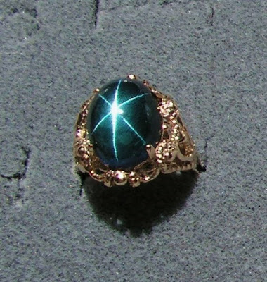 Color n ice for Man made sapphire jewelry