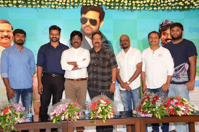 Sai Dharam Tej - Karunakaran Movie Pooja Ceremony photos