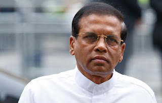 President Sirisena denies involvement in international corruption charges