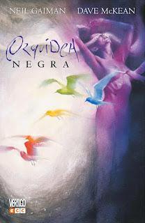Orquídea negra Neil Gaiman