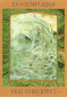 Tarot da Deusa - Nyai Loro Kidul