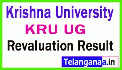 Krishna University UG Exam Revaluation Results