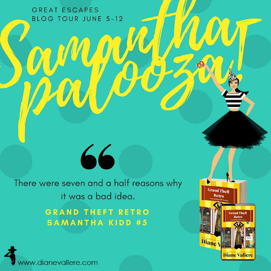 Grand Theft Retro by Diane Vallere | #Samanthapalooza! Tour w/ Review & Giveaway