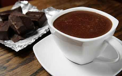 cokelat panas