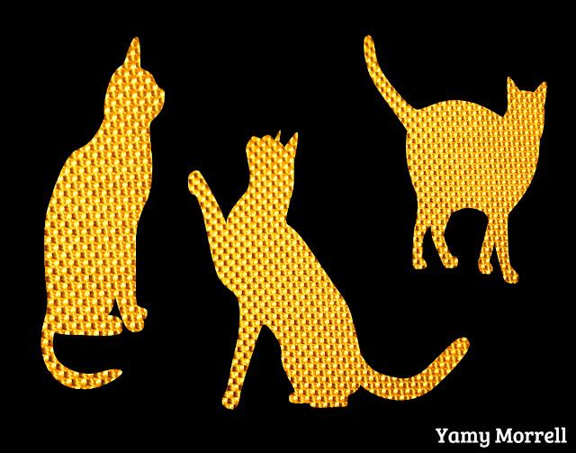 digital art-cats-yamy-morrell