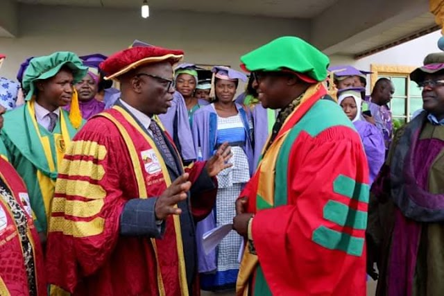 ROYAL CITY COLLEGE OF EDUCATION MATRICULATES 120 STUDENTS FOR DEGREE PROGRAMS