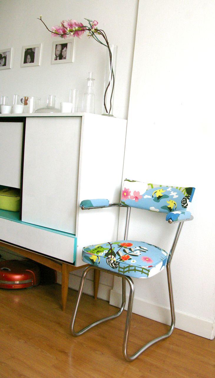 madame bidule le blog d co design abordable pour petits et grands diy relooker un fauteuil. Black Bedroom Furniture Sets. Home Design Ideas