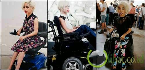 Jillian Mercado, model dengan kursi roda