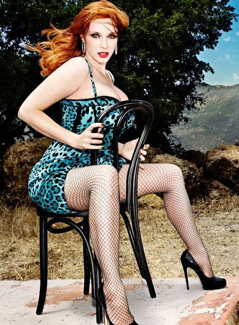 Christina Hendricks. Perfect redhead.