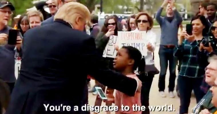 Trump Little Girl