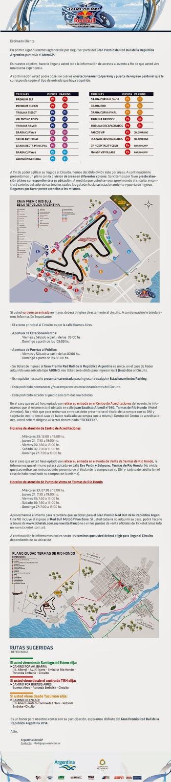 Motos Argentinas News Planos De Termas De Rio Hondo