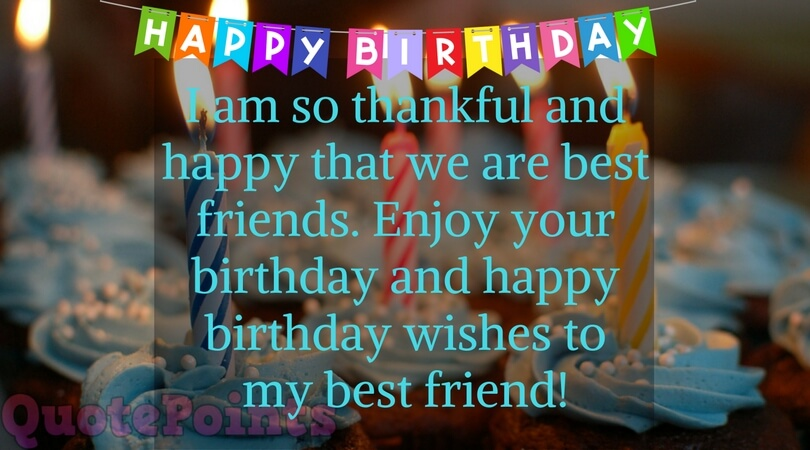 birthday wishes for best friend female images