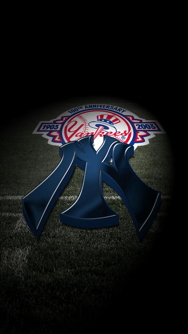 New York Yankees   iPhone 5 wallpapers