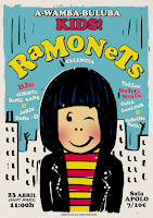 Concierto de Ramonets en Sala Apolo