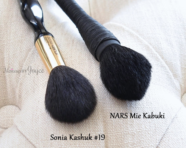 Sonia Kashuk Tapered Powder #19 Brush NARS Mie Kabuki Review