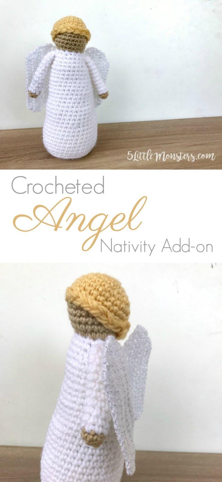 Lovely Angel crochet pattern - Amigurumi Today | 1600x738