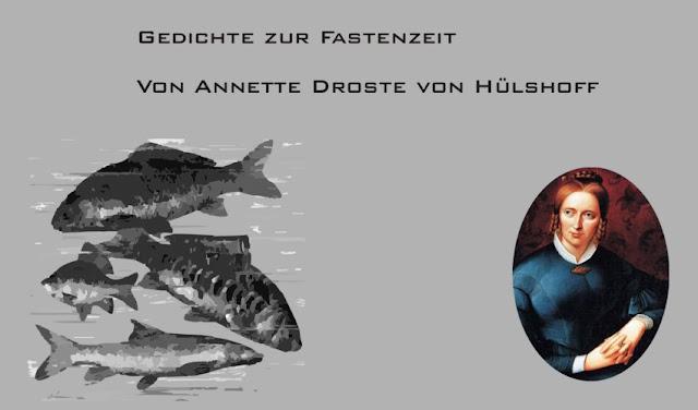 Fische und Anette Droste von Hülshoff