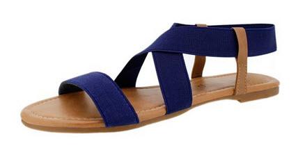 5aba3b704 SANDALUP Women s Elastic Sandal - Sandals