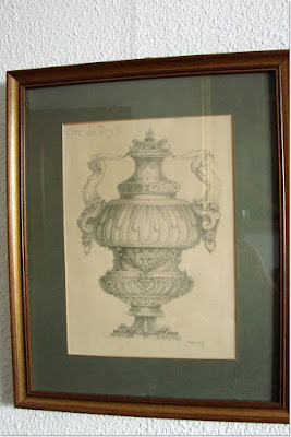 cuadro-lápiz-jarrón-clasico-flor-de-diys