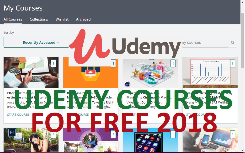 Chia sẻ những khóa học trên Udemy miễn phí update liên tục