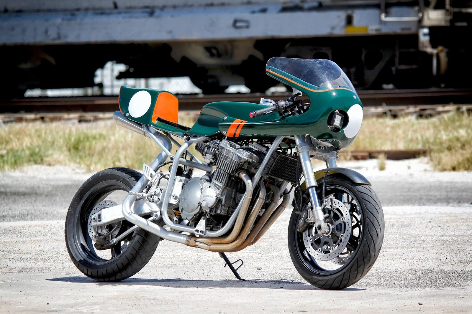 Diy Kit Motorcycle Cafe Racer Kit Rocketgarage Cafe