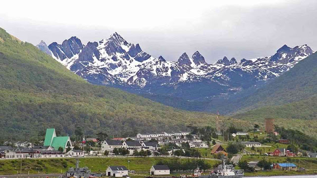 Puerto Williams, the southernmost city in the World.
