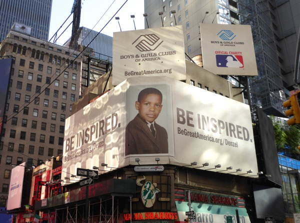Be inspired Boys Girls Club America billboards