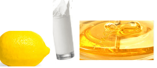 How to get glowing skin using Milk, Lemon Juice, And Honey :