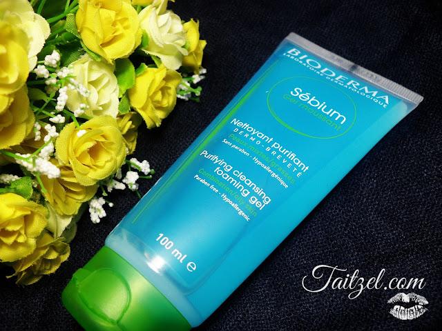 Sebium purifying cleansing foaming gel