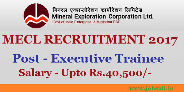 mecl recruitment through gate 2017, geophysics jobs in india, employment news