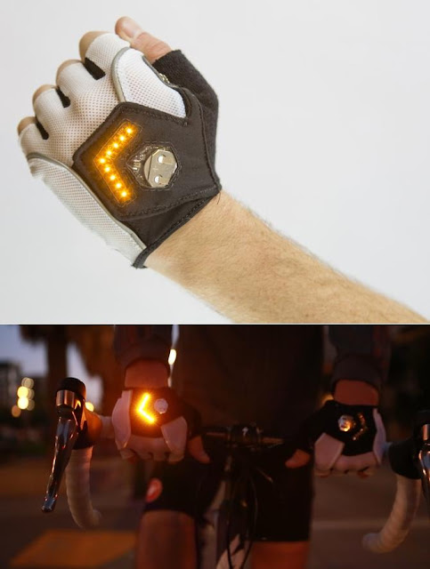 Clever Gadgets to Stay Visible In The Dark - Zackees Turn Signal Gloves