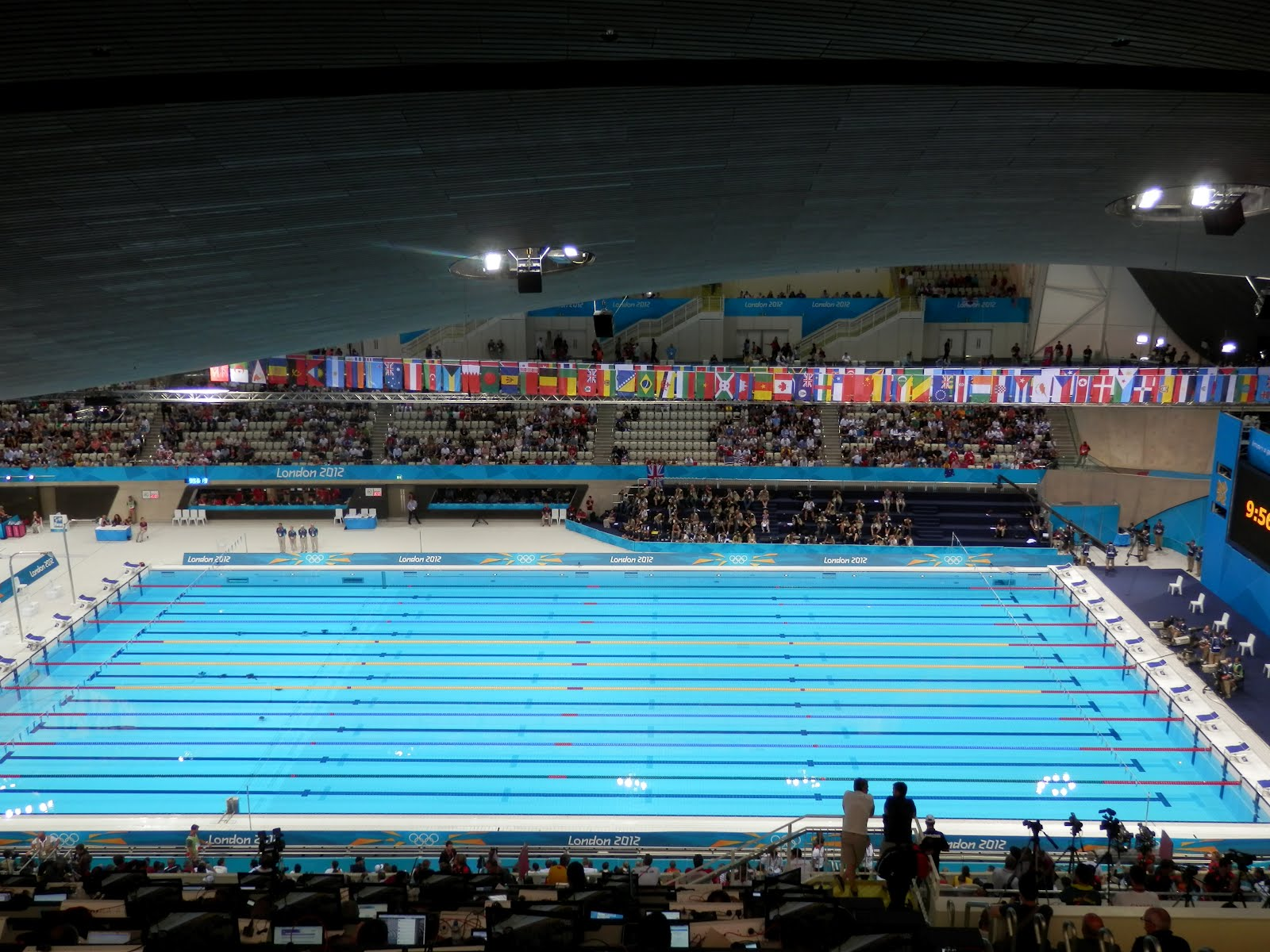 Olympic Swimming Pool 2012: Scott Says ...: A Good Sunday Morning For Charlotte Swimmers