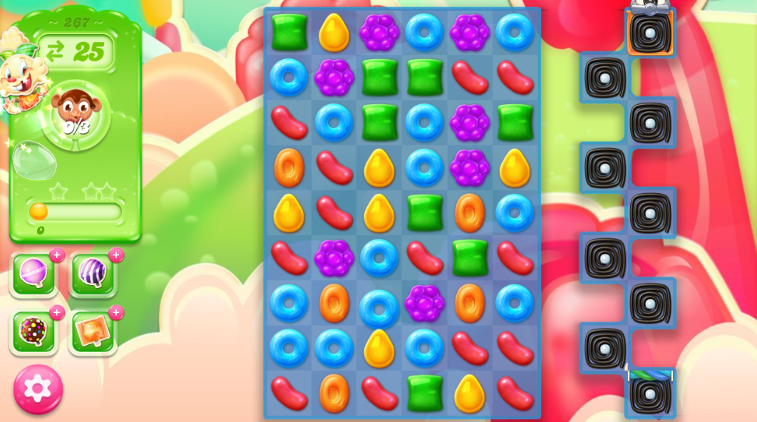 Candy Crush Jelly Saga 267