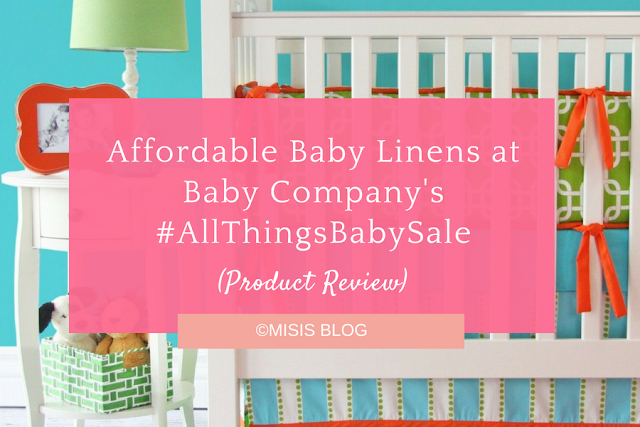 Affordable Baby Linens at Baby Company's #AllThingsBabySale