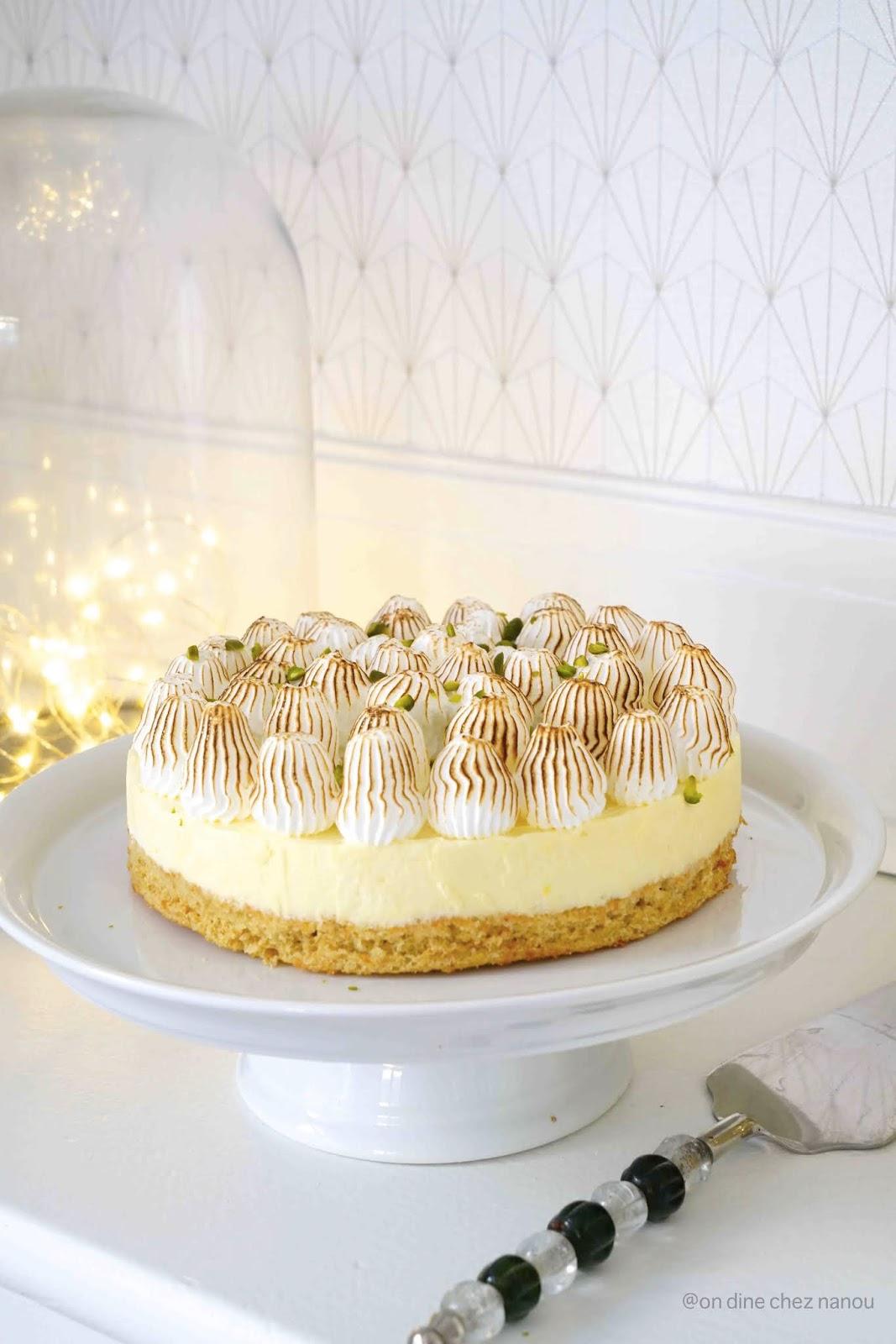 lemon curd , meringue italienne , gâteau leger , moelleux , gâteau de fêtes , citron