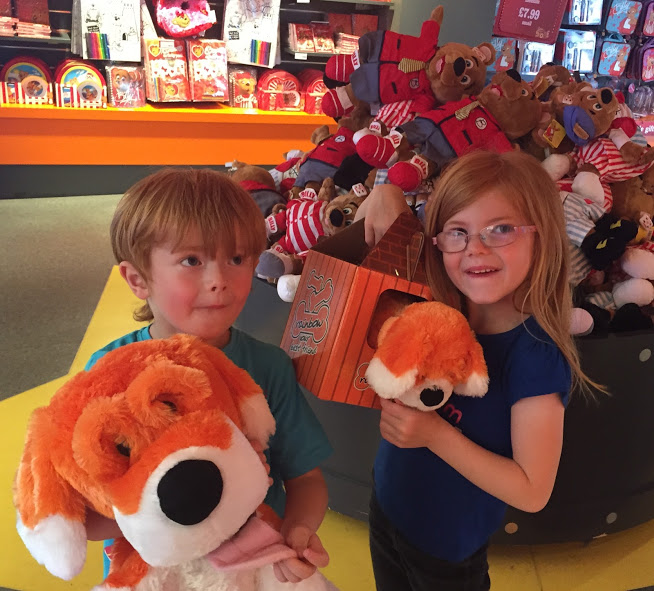 10 things to do at Butlin's Skegness when it's raining - rainbow cuddly toy