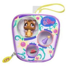 Littlest Pet Shop Purse Sugar Glider (#661) Pet