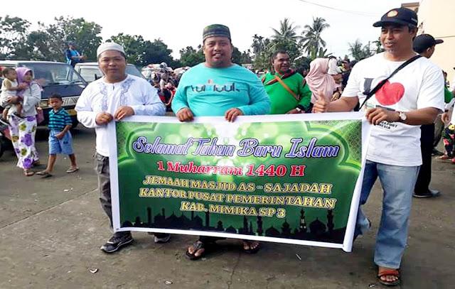 Semarak Peringatan Tahun Baru Islam 1 Muharam 1440 H di Kabupaten Mimika Berlangsung Meriah