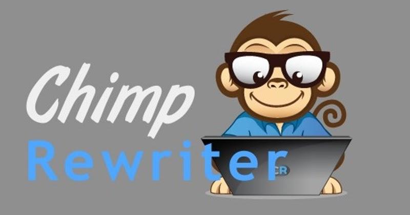 Basic Software: Chimp Rewriter Version 3.5.6200 Download