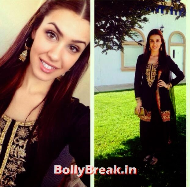 Punjabi Jatti Girl in black suit, Punjabi Jatti Girl Pics in Punjabi Suit