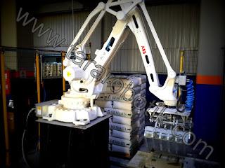 nişasta paletleme robotu