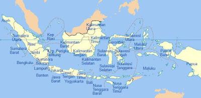 Daftar 34 Nama Provinsi di Indonesia